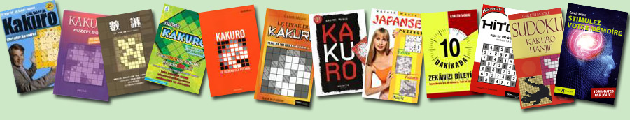 Overseas / translated editions of my puzzle books